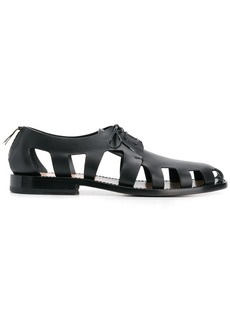 Bottega Veneta cut-out Derby shoes
