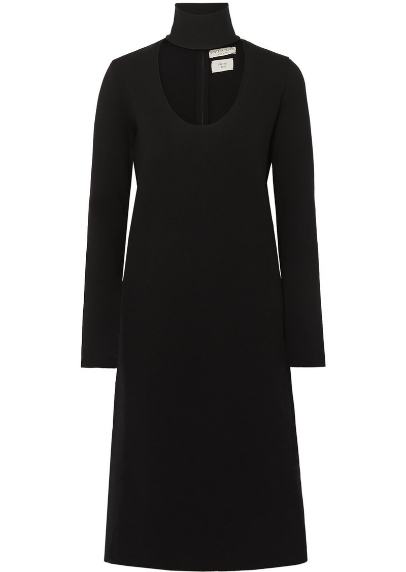 Bottega Veneta Cutout Stretch-knit Dress