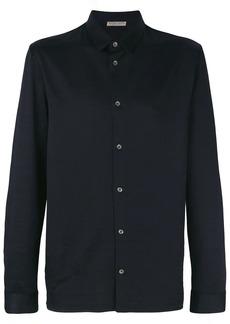 Bottega Veneta dark navy cotton shirt