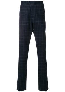 Bottega Veneta dark navy wool cashmere pant