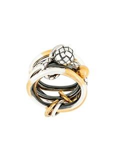 Bottega Veneta engraved ring