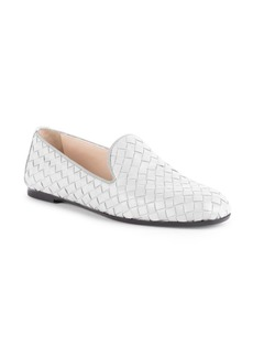 Bottega Veneta Fiandra Woven Leather Loafers