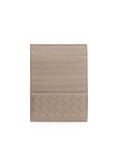 Bottega Veneta Eight-Slot Leather Card Case