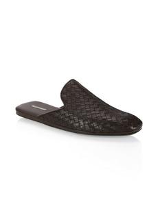 Bottega Veneta Foulard Leather Mules
