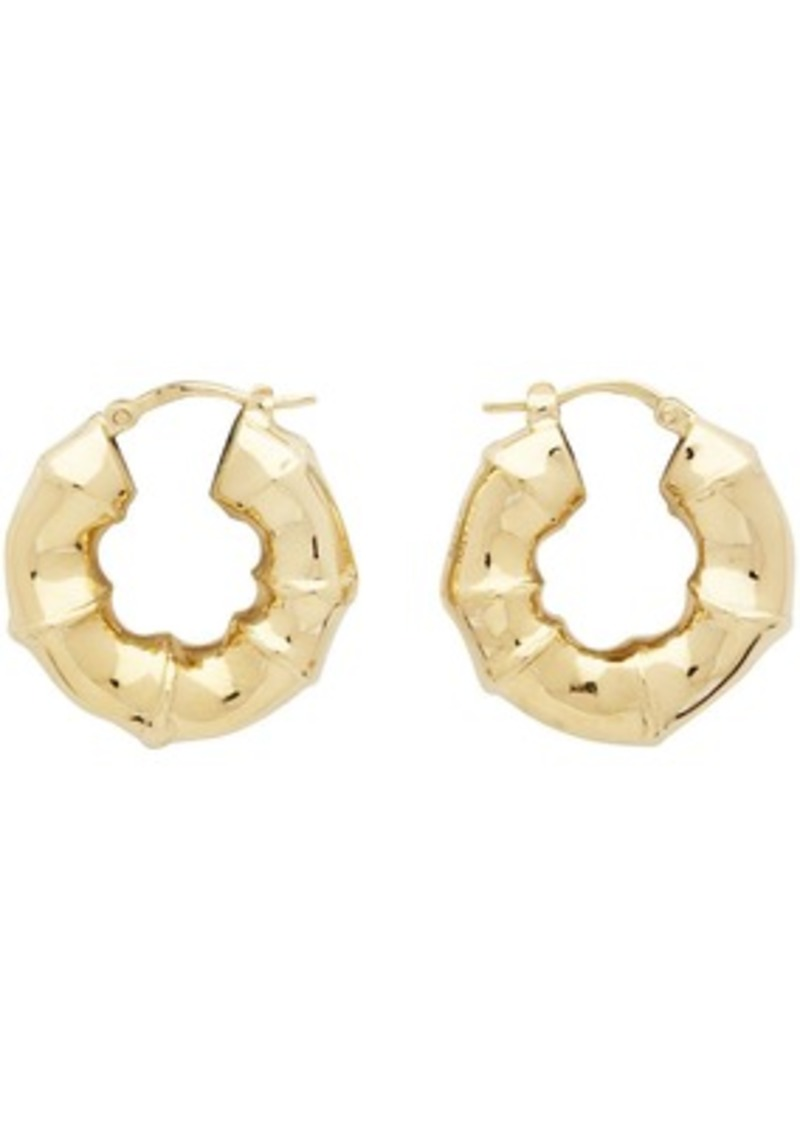 Bottega Veneta Gold Sterling Earrings