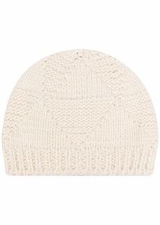 Bottega Veneta knitted geometric-panel hat