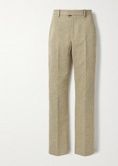 Bottega Veneta Herringbone Boucle Straight-leg Pants