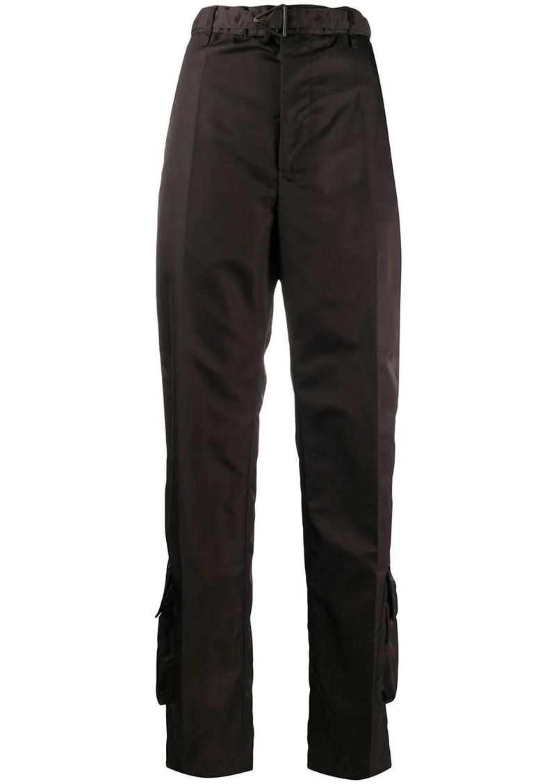 Bottega Veneta high-waisted cargo trousers
