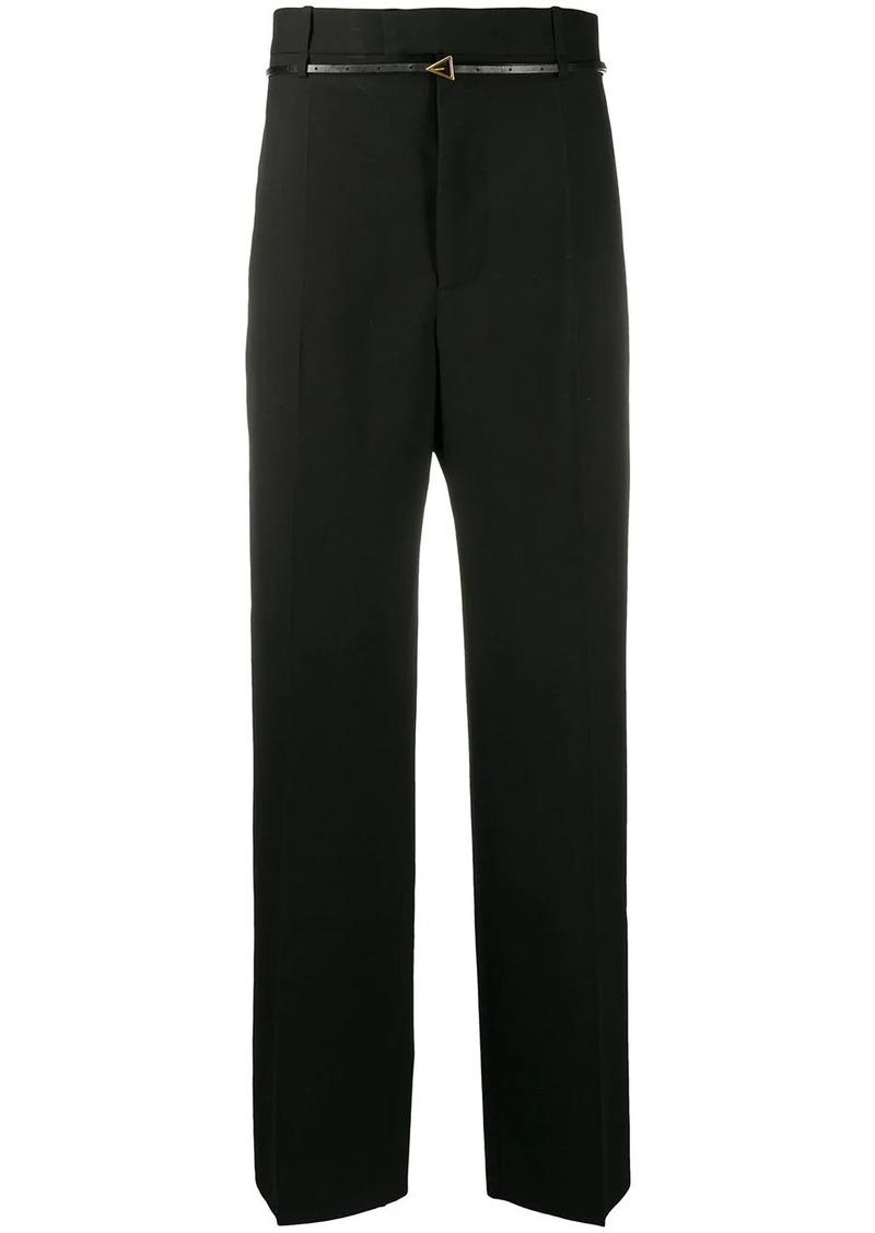 Bottega Veneta high-waisted wide tailored trousers