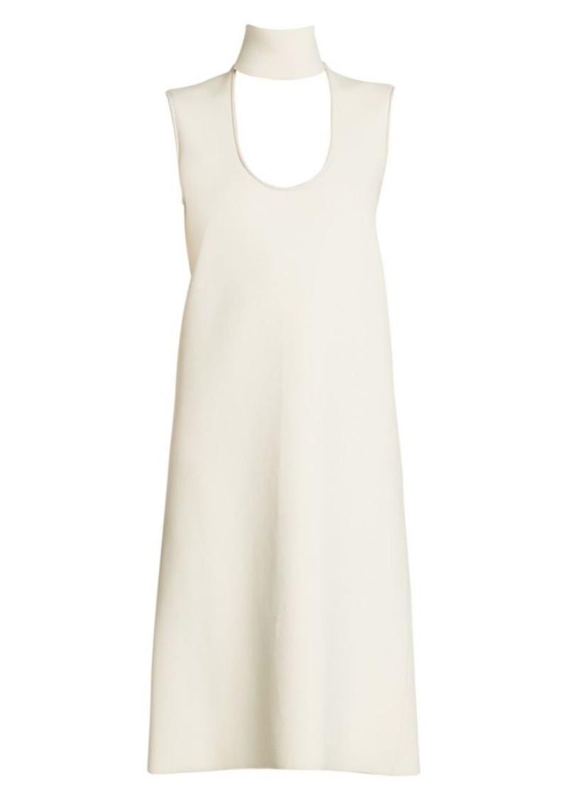 Bottega Veneta Highneck Cutout Sleeveless Dress
