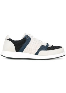 Bottega Veneta interlaced embossed sneakers