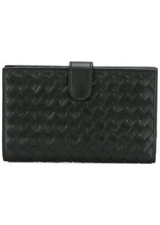Bottega Veneta interlaced leather bi-fold wallet