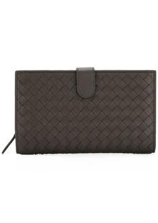 Bottega Veneta interlaced leather continental wallet