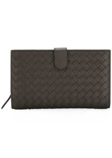 Bottega Veneta interlaced leather continental wallet