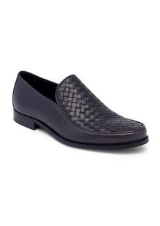 Bottega Veneta Interwoven Leather Loafers
