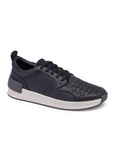 Bottega Veneta Interwoven Leather Low-Top Sneakers