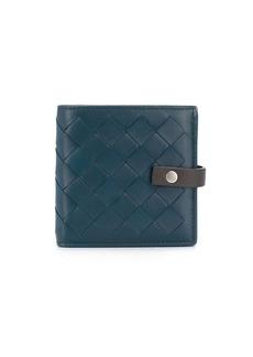 Bottega Veneta intrecciato weave bi-fold wallet