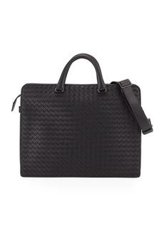Bottega Veneta Intrecciato Calf Leather Briefcase