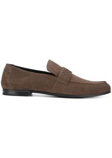 Bottega Veneta Intrecciato detail loafers