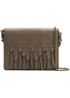 Bottega Veneta Intrecciato fringed cross body bag