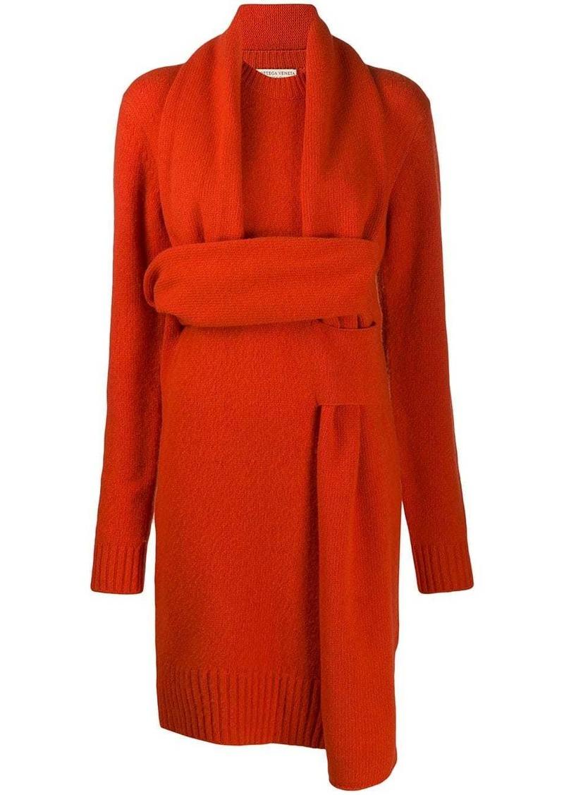 Bottega Veneta Intrecciato knitted dress