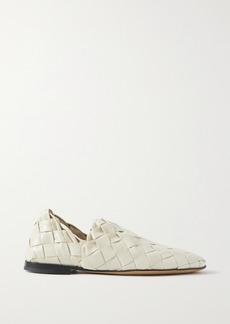 Bottega Veneta Intrecciato Leather Collapsible-heel Loafers