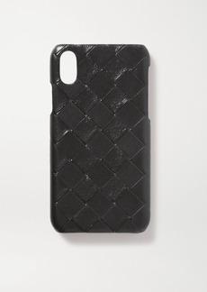 Bottega Veneta Intrecciato Leather Iphone X And Xs Case