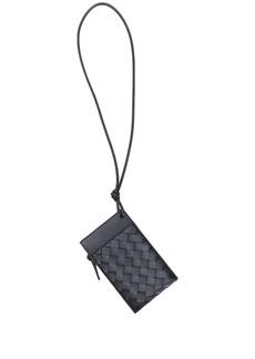 Bottega Veneta Intrecciato leather iPhone wallet