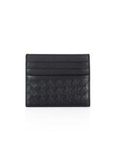 Bottega Veneta Intrecciato Leather Weave Card Case