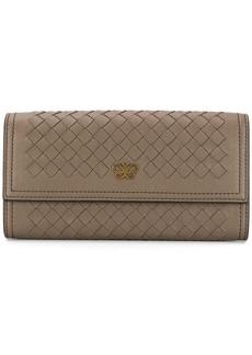 Bottega Veneta Intrecciato logo wallet