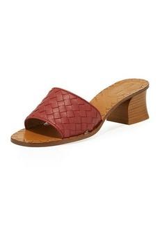 Bottega Veneta Intrecciato Napa 40mm Slide Sandals