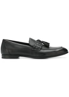 Bottega Veneta Intrecciato panel loafers