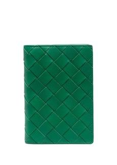 Bottega Veneta Intrecciato passport holder
