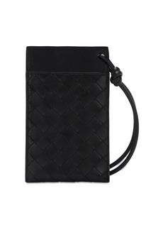 Bottega Veneta Intrecciato Phone Wallet Bag