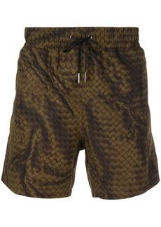 Bottega Veneta Intrecciato swim shorts