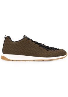 Bottega Veneta Intrecciato weave low-top sneakers