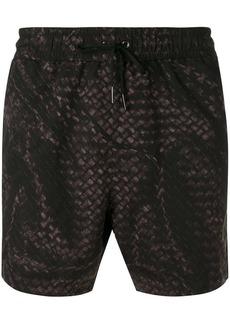 Bottega Veneta Intrecciato weave swim shorts