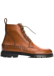 Bottega Veneta Intrecciato woven boots