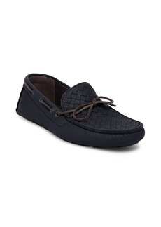 Bottega Veneta Intreccio Leather Moccasins
