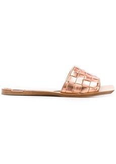 Bottega Veneta Intreccio weave sandals