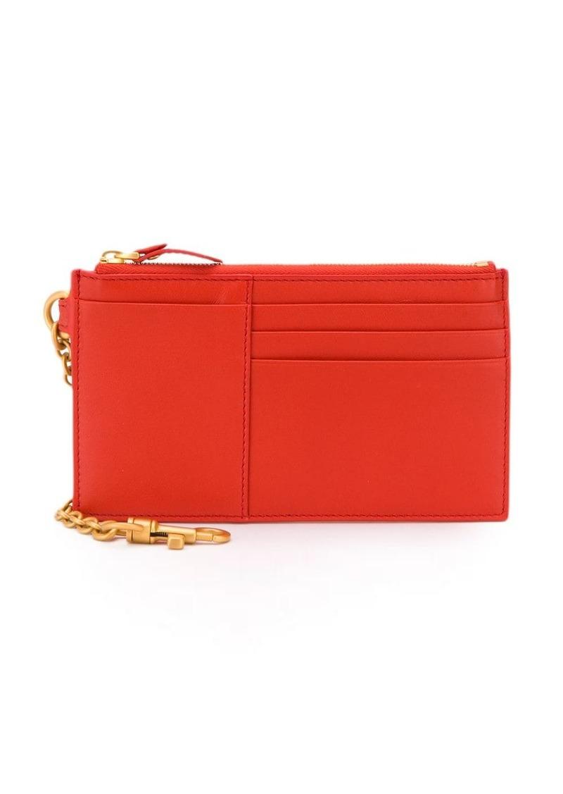 Bottega Veneta keychain purse