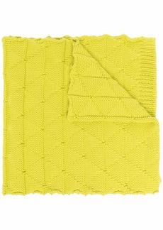 Bottega Veneta knitted wool scarf