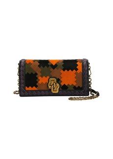 Bottega Veneta Knot Chain Clutch Bag in Puzzle Patchwork