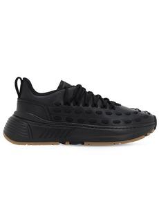Bottega Veneta Laces Low Top Leather Sneakers