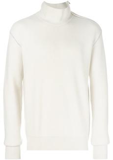 Bottega Veneta latte wool cashmere sweater