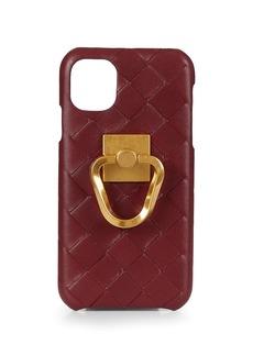 Bottega Veneta Leather iPhone 11 Case