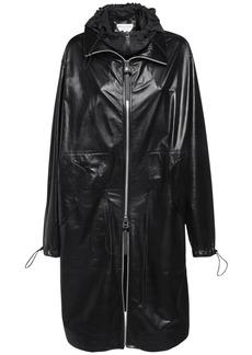Bottega Veneta Leather Parka Coat