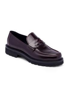 Bottega Veneta Leather Penny Loafers
