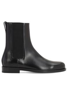 Bottega Veneta Lennon Leather Chelsea Boots