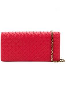Bottega Veneta long intrecciato wallet